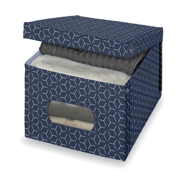 Cutie pentru depozitare Domopak Metrik Extra Large, 50x42cm, albastru închis