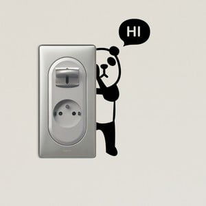 Samolepka Fanastick Panda