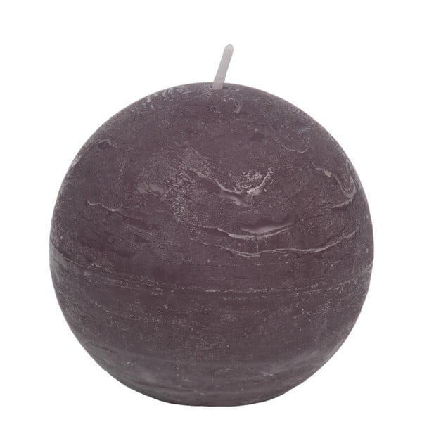 Fioletowa świeczka J-Line Ball