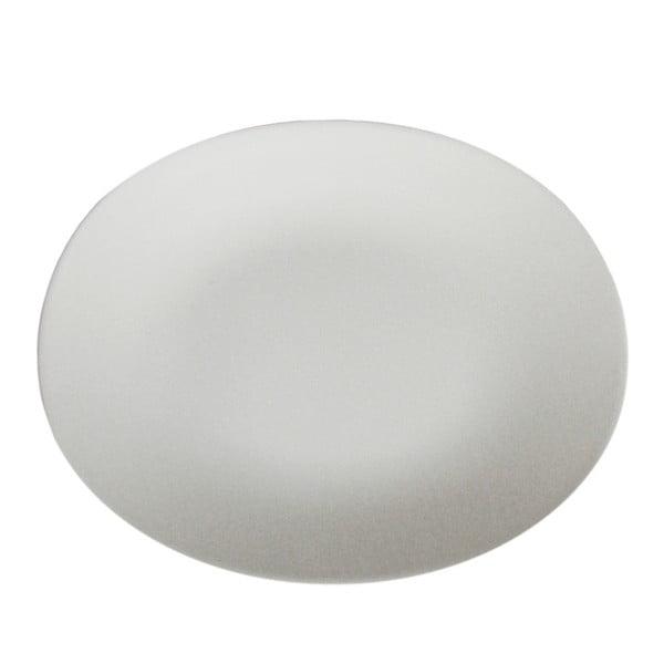 Černý dezertní talíř Entity, 21 cm