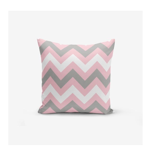 Față de pernă Minimalist Cushion Covers Zigzag Colorful, 45 x 45 cm