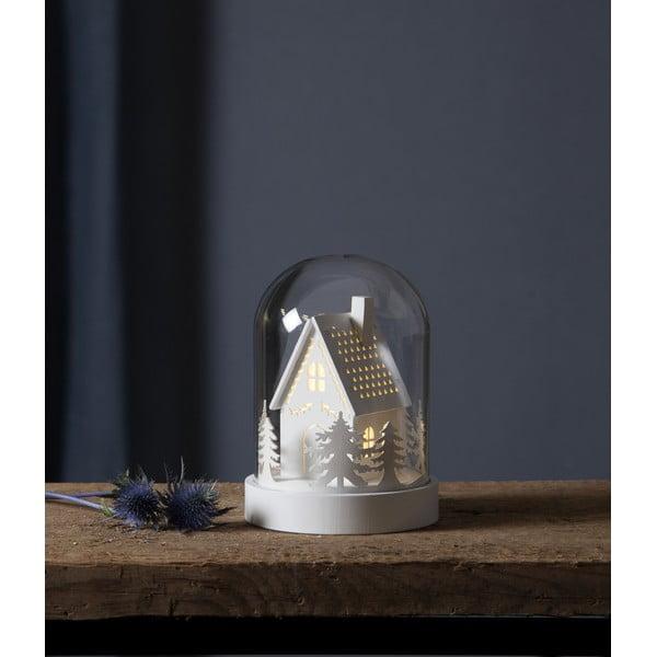 LED svetelná dekorácia Best Season kupolu House, výška 17,5 cm