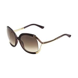 Sluneční brýle Jimmy Choo Beatrix Gold Brown/Brown