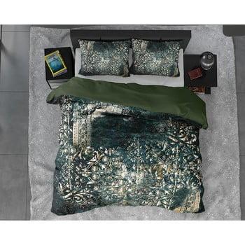 Lenjerie de pat din bumbac satinat, pentru pat dublu DH Satin Wild Nairobi, 200 x 200 cm