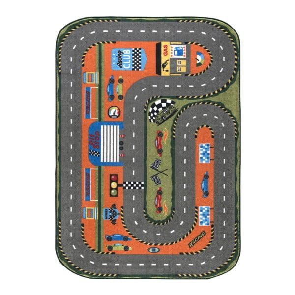 Dětský koberec Race Club, 133x190cm