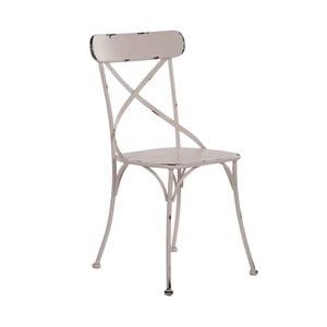 Béžová židle SohoAndDeco Forja