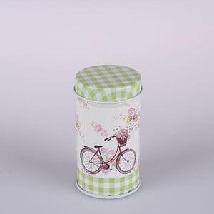 Plechová dóza Paris Bicycle Round