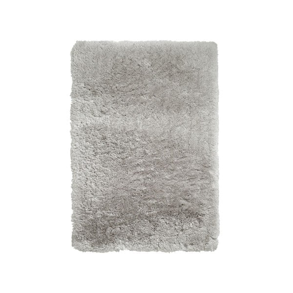 Covor țesut manual Think Rugs Polar PL Light Grey, 80 x 150 cm, gri deschis