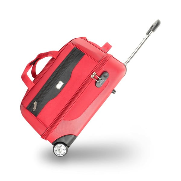 Sada 2 cestovních tašek na kolečkách Roulettes Red, 111 l/65 l