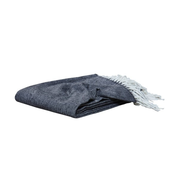 Deka Nova Throw Black, 120x175 cm