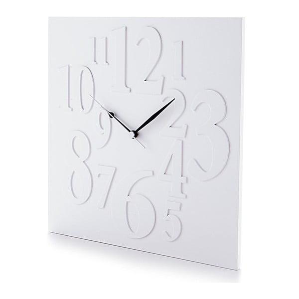 Nástěnné hodiny Mix White