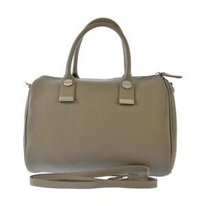 Béžová kožená kabelka Jenn