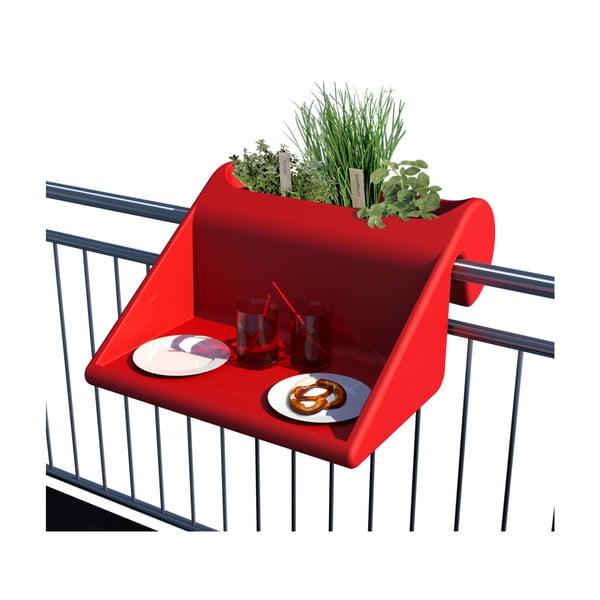 Balkonový systém, červený