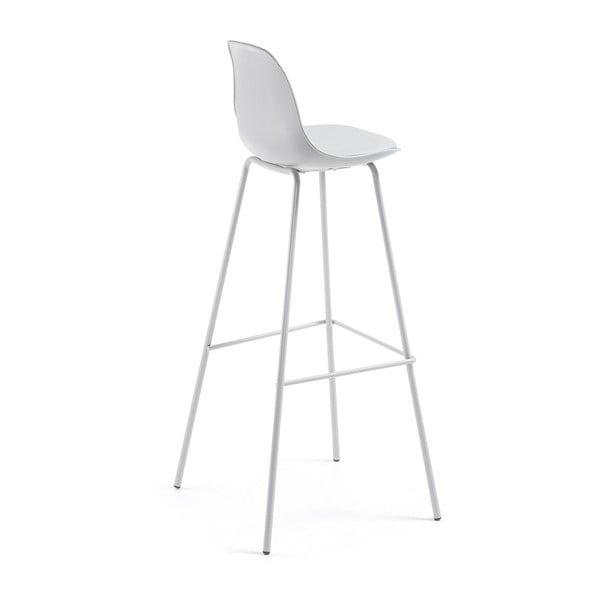 Šedá barová židle La Forma Lysna