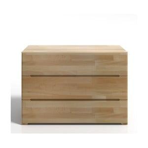 Komoda z bukového dřeva se 3 zásuvkami SKANDICA Sparta
