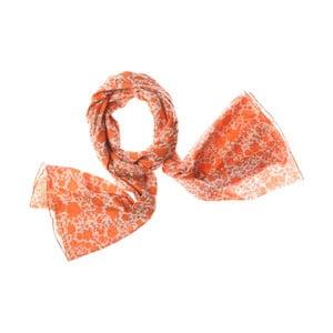 Šátek Hanging Orange, 200x100 cm