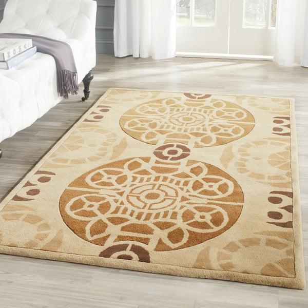 Ručně vyšívaný koberec Nelson, 121x182 cm