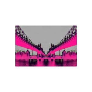 Obraz Night Vision Pink, 41 x 61 cm