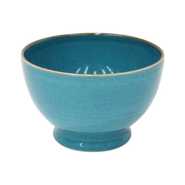 Modrá miska z kameniny Casafina Sardegna,⌀15cm