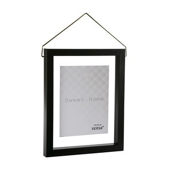 Ramă foto suspendată VERSA, pentru fotografii 13 x 18 cm, negru imagine