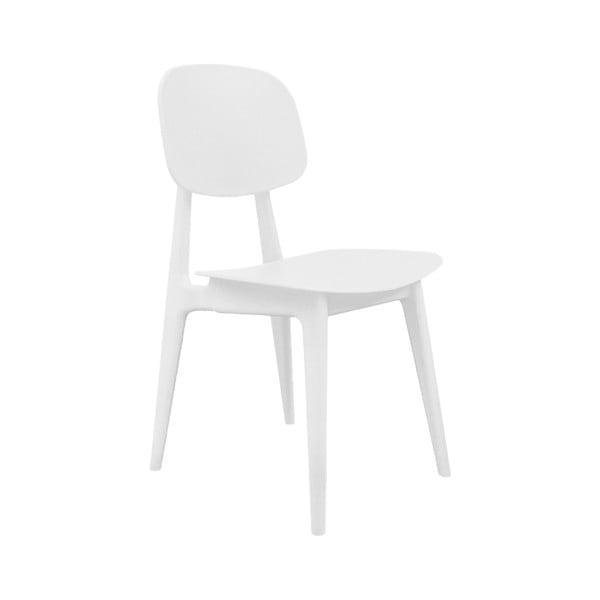 Bílá jídelní židle Leitmotiv Vintage