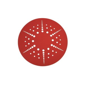 Koberec Circles 170 cm, červený