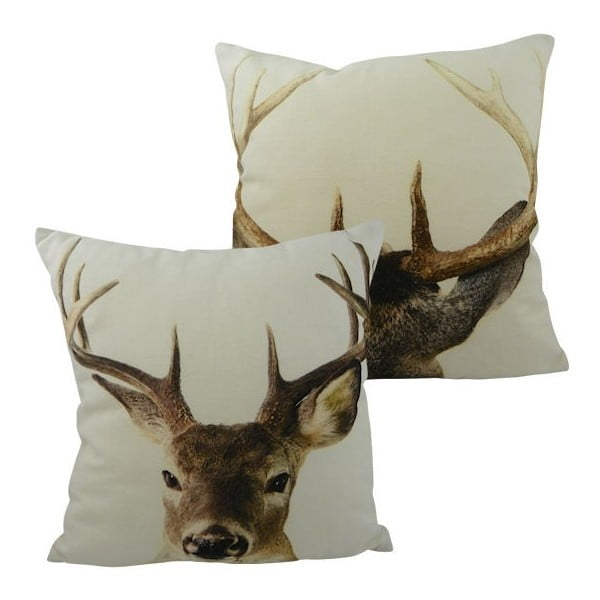 Polštář Double Deer 33x33 cm