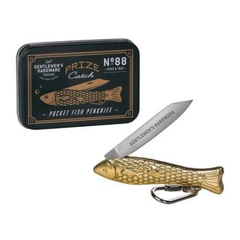 Briceag în formă de pește Gentlemen's Hardware, auriu de la Gentlemen's Hardware