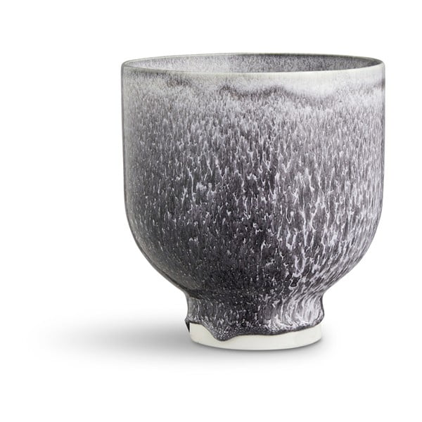 Unico sötétszürke porcelánkaspó, ⌀ 12 cm - Kähler Design