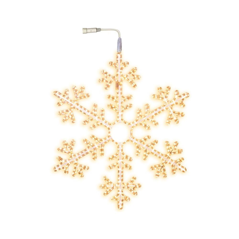 Svítící hvězda Best Season Warm Snowflake, Ø 100 cm