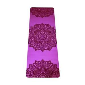Růžová podložka na jógu Yoga Design Lab Mandala Rose, 5 mm