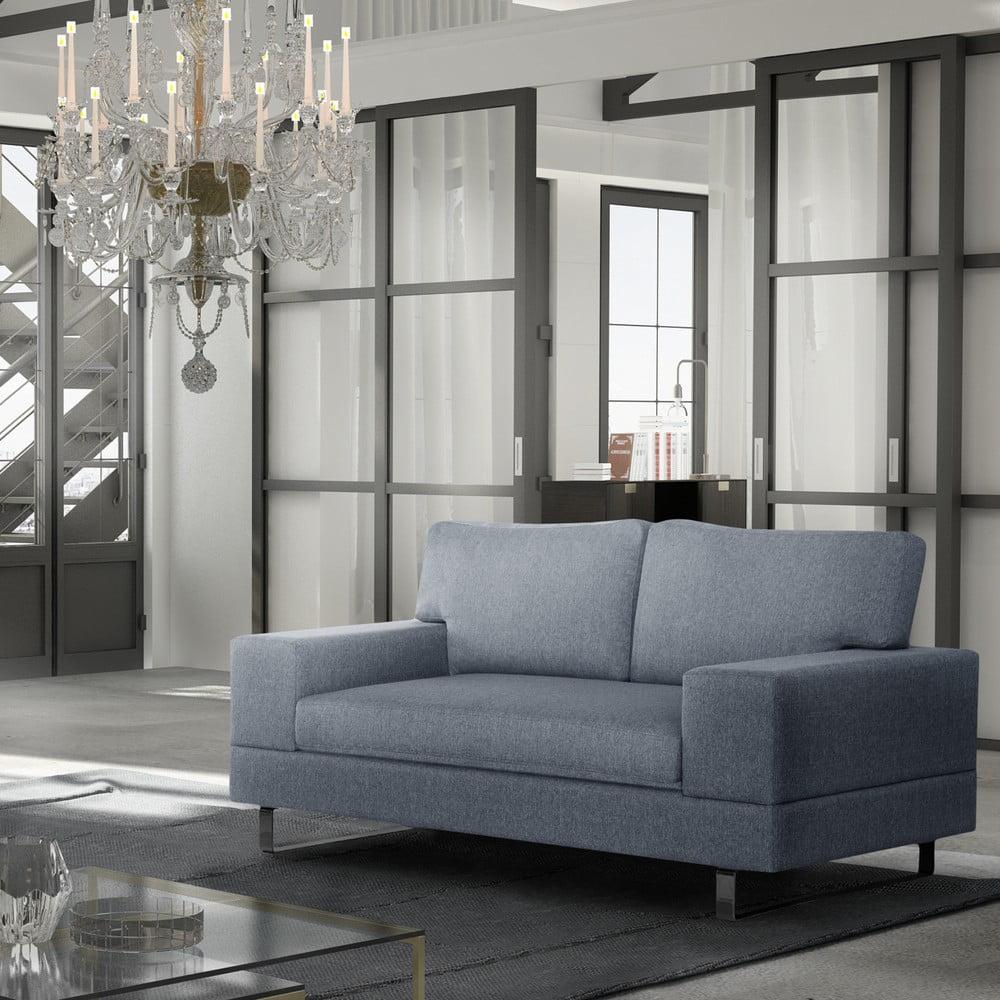 canapea cu 2 locuri corinne cobson dahlia gri bonami. Black Bedroom Furniture Sets. Home Design Ideas