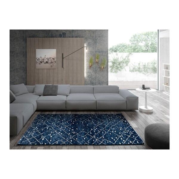 Modrý koberec Universal Indigo Azul, 60x120cm