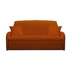 Canapea extensibilă cu 3 locuri 13Casa Paul, portocaliu