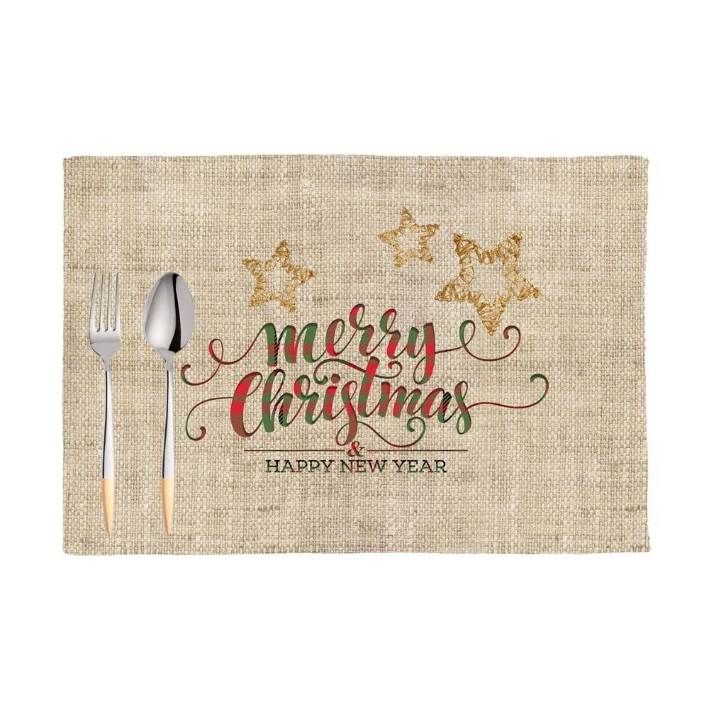 Sada 2 vánočních prostírání Apolena Honey XMas, 33 x 45 cm