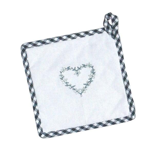 Kuchyňská rukavice a chňapka White Heart