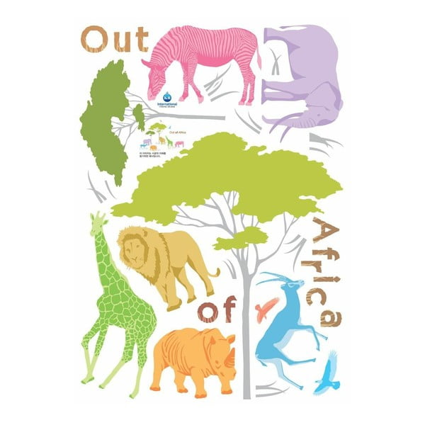 Autocolant Fanastick African Animals