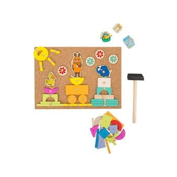 Jucărie din lemn pentru copii Legler Dia Maus de la Legler