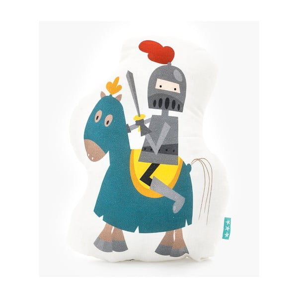 Bavlněný dětský polštářek Mr. Fox Knight, 40x30cm