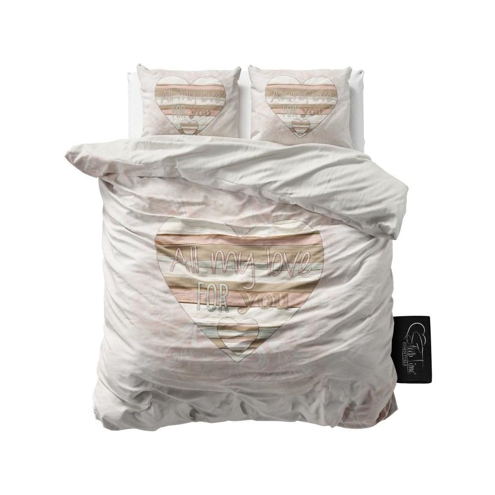 Povlečení z mikroperkálu Sleeptime All My Love, 200 x 220 cm
