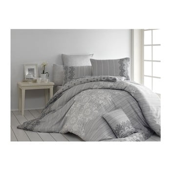 Lenjerie de pat cu cearșaf și 2 fețe de pernă Dolce, 200 x 220 cm de la Nazenin Home