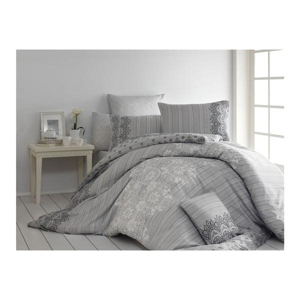 Lenjerie de pat cu cearșaf și 2 fețe de pernă Dolce, 200 x 220 cm