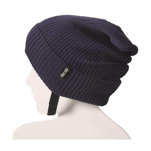 Modrá čepice s ochrannými prvky Ribcap Lenny, vel. S