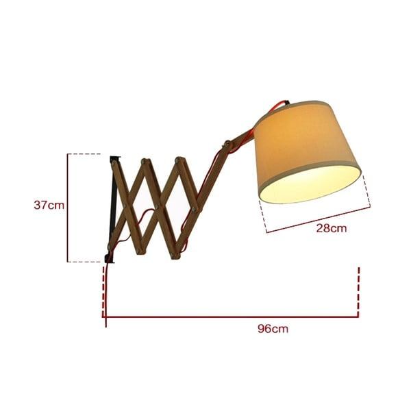 Nástěnná lampa Tisoro