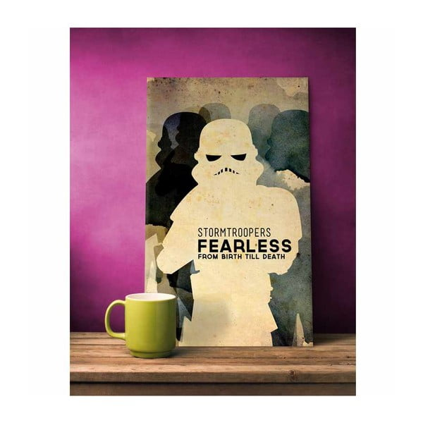 Cedule Stormtroopers, 56x45 cm