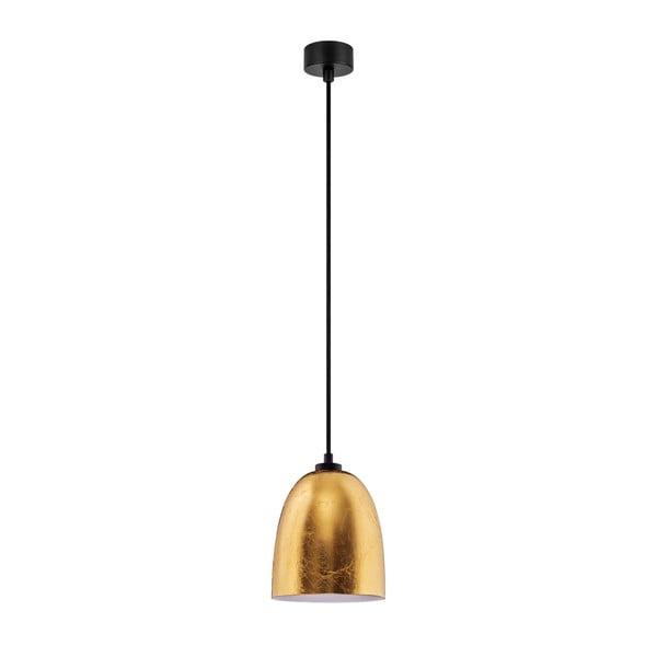 Závesné svietidlo v zlatej farbe Sotto Luce Awa