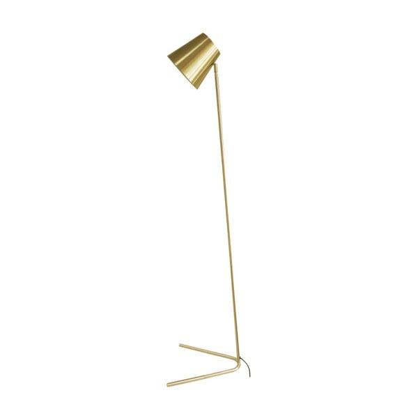 Stojacia lampa v zlatej farbe Leitmotiv Noble
