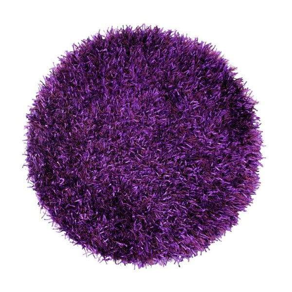 Koberec Shaggy Violet, 70x70 cm