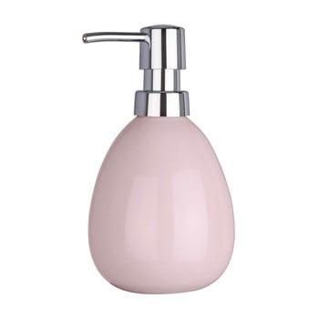 Dozator săpun lichid Wenko Polaris Pink, roz de la Wenko