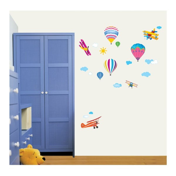Set autocolante Ambiance Ballons For Kids